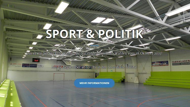 Sport und Politik in Turbenthal